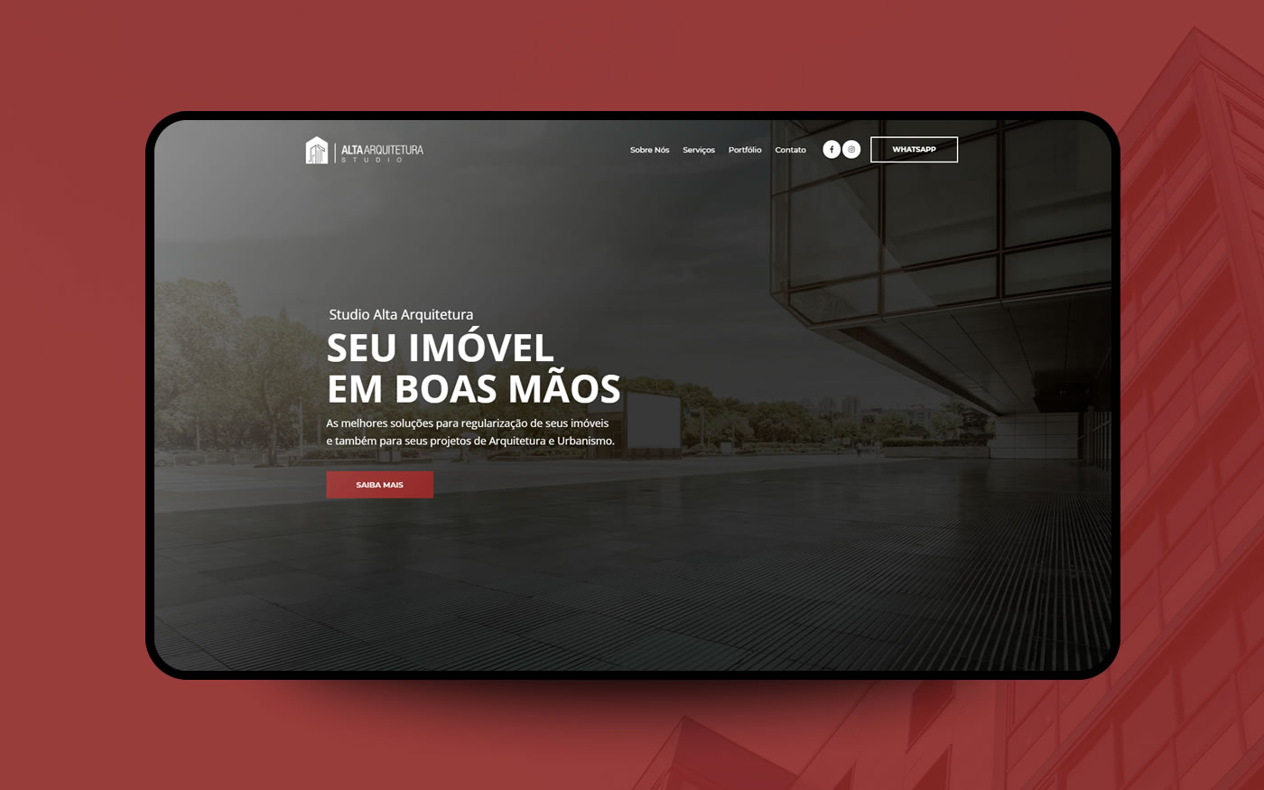 Empresa de Sites - Studio Alta Arquitetura