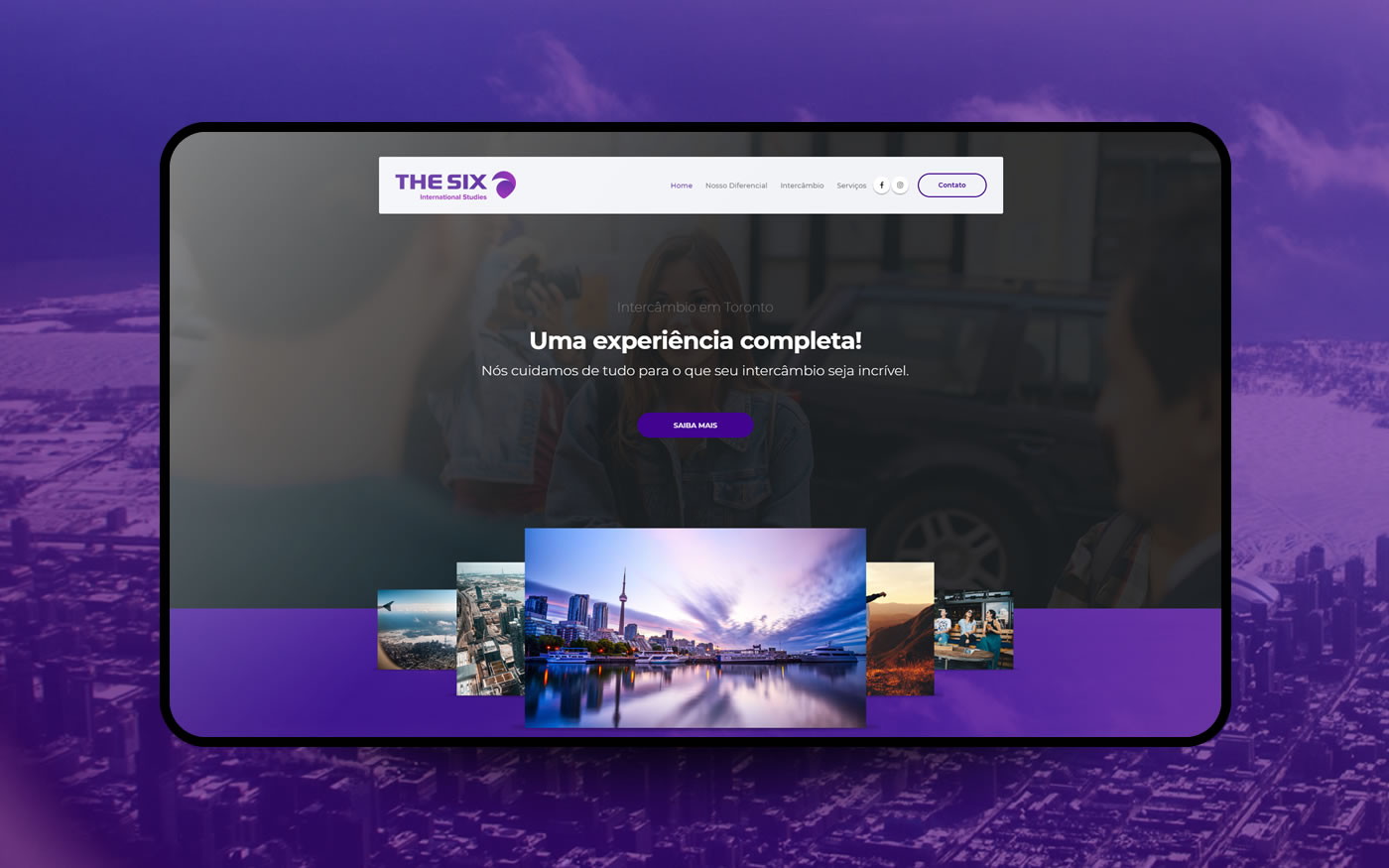 Empresa de Sites - The Six
